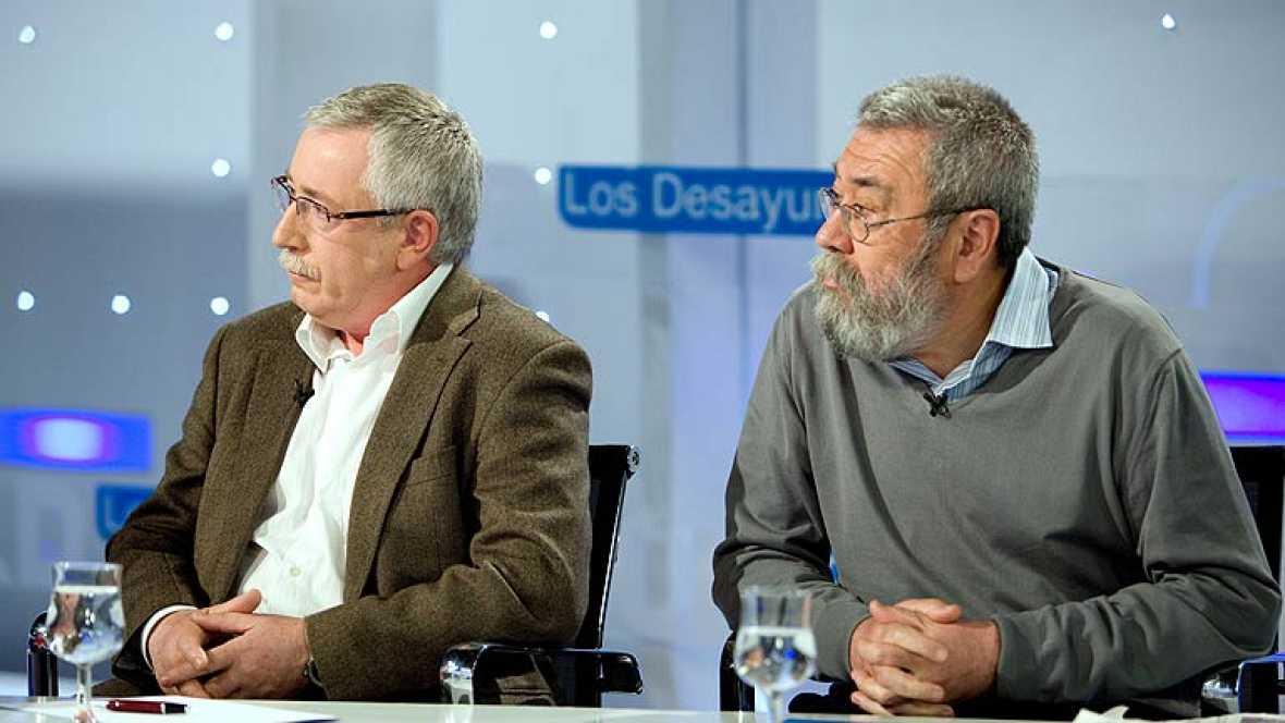 Toxo y Méndez critican el cambio en la elección de presidente de la CRTVE
