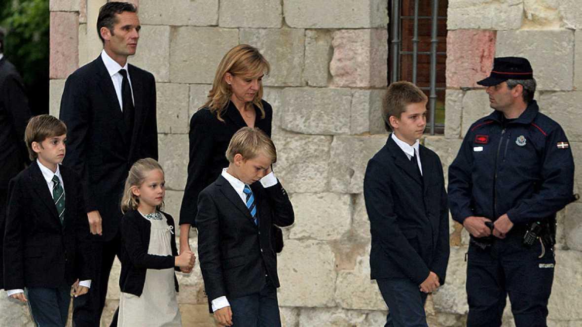 Funeral por la muerte del padre de Iñaki Urdangarin