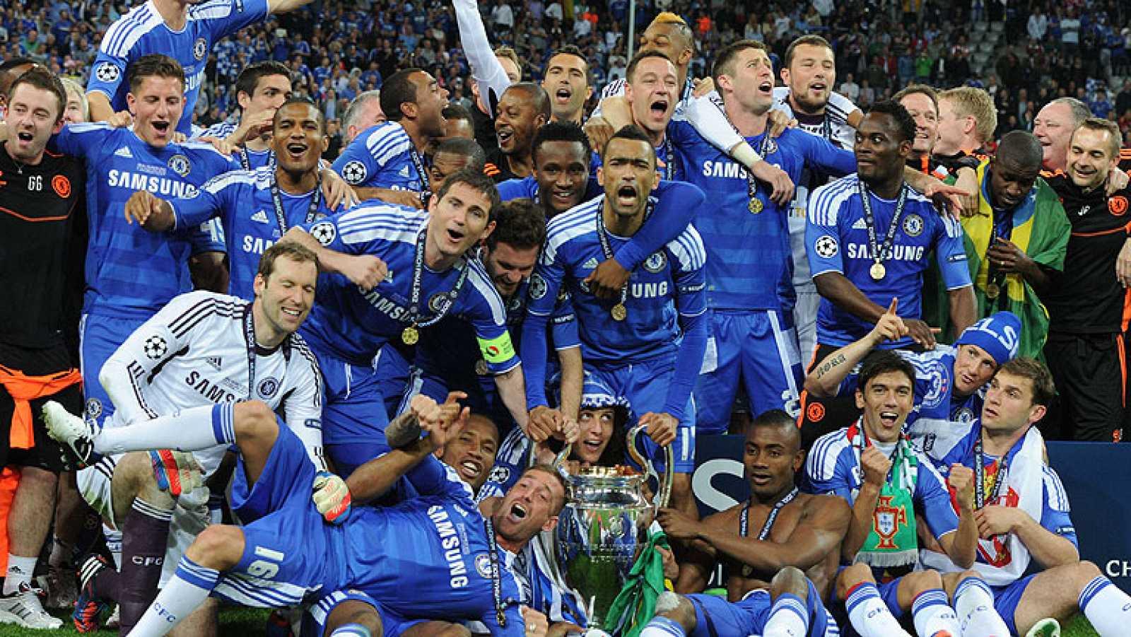 Resultado de imagen de chelsea campeon Uefa champions League
