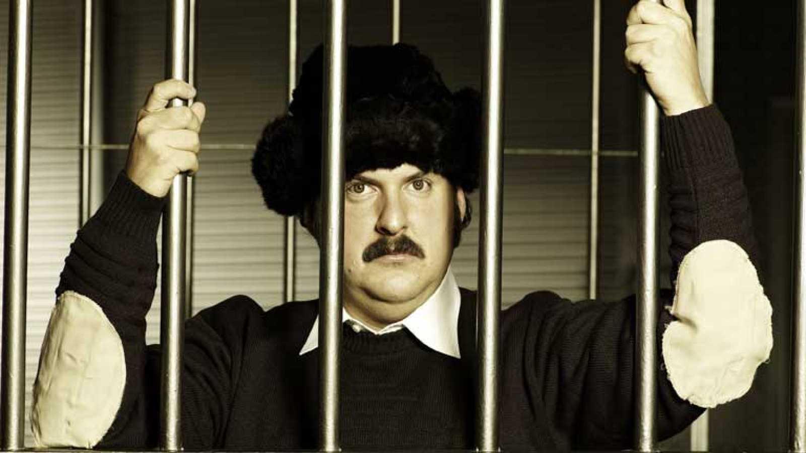 Pablo Escobar retratado en una serie colombiana