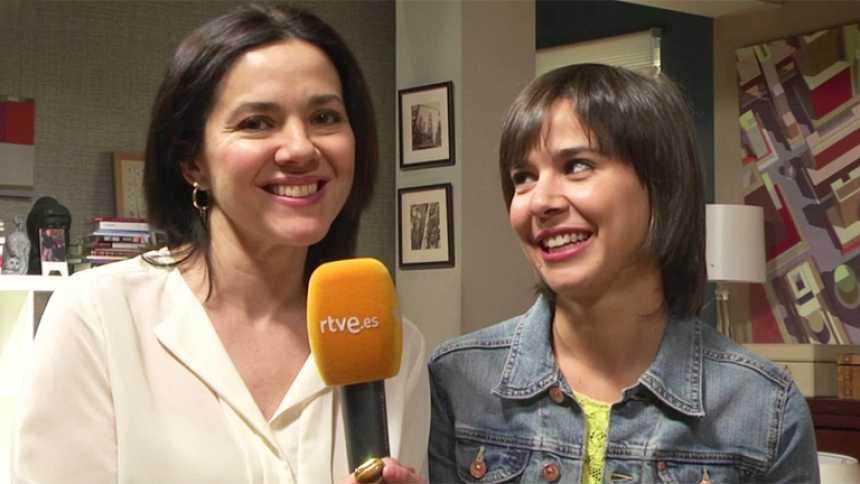 Los misterios de Laura - Carmen Gutiérrez y Carlota Olcina en la serie