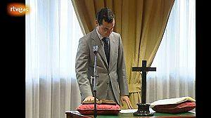 González-Echenique, jurando cargo