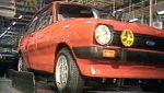 Los primeros Ford Fiesta fabricados en Almussafes