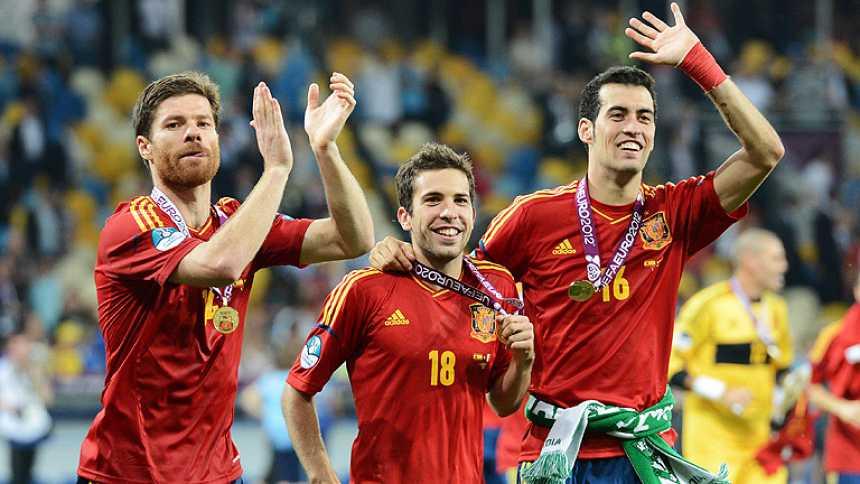 Diez españoles en el 'Equipo Ideal' de la Eurocopa