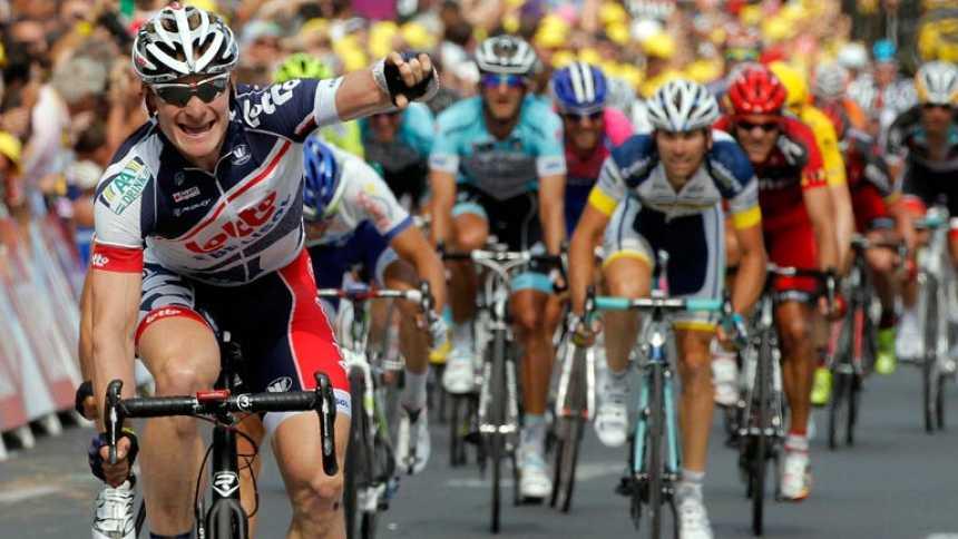 Tercera etapa de Greipel en el Tour