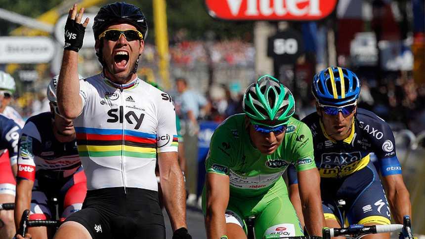 Cavendish suma la cuarta en París, Wiggins el primero