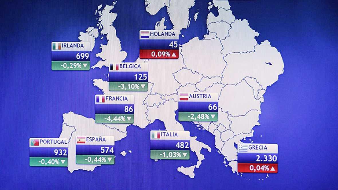 Moody's deja la deuda de Alemania, Holanda y Luxemburgo en perspectiva negativa