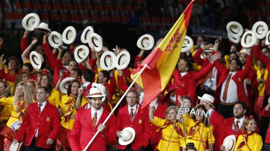 Los españoles vivieron con emoción su participación en la ceremonia de inauguración