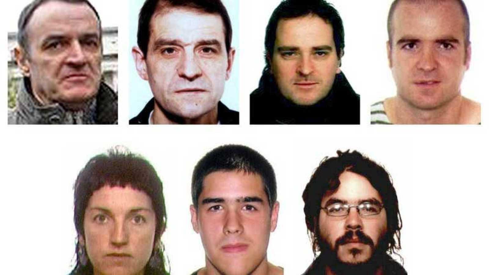 Resultado de imagen de terroristas huidos de la justicia española