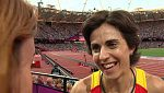 """Nuria Fernández, tras ser eliminada: """"No tenía fuerzas, pero estoy muy contenta"""""""