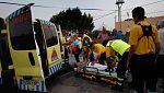 Dos barcos han evacuado ya a casi 1.000 personas en La Gomera por los incendios