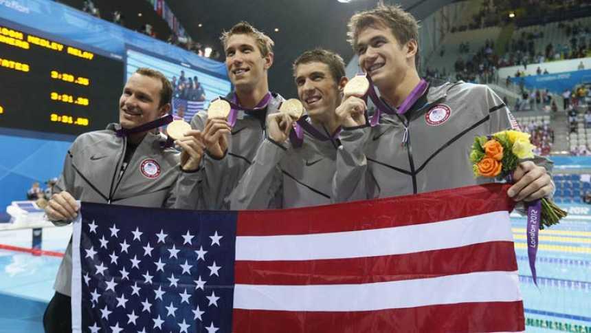 Estados Unidos, los grandes triunfadores de los Juegos