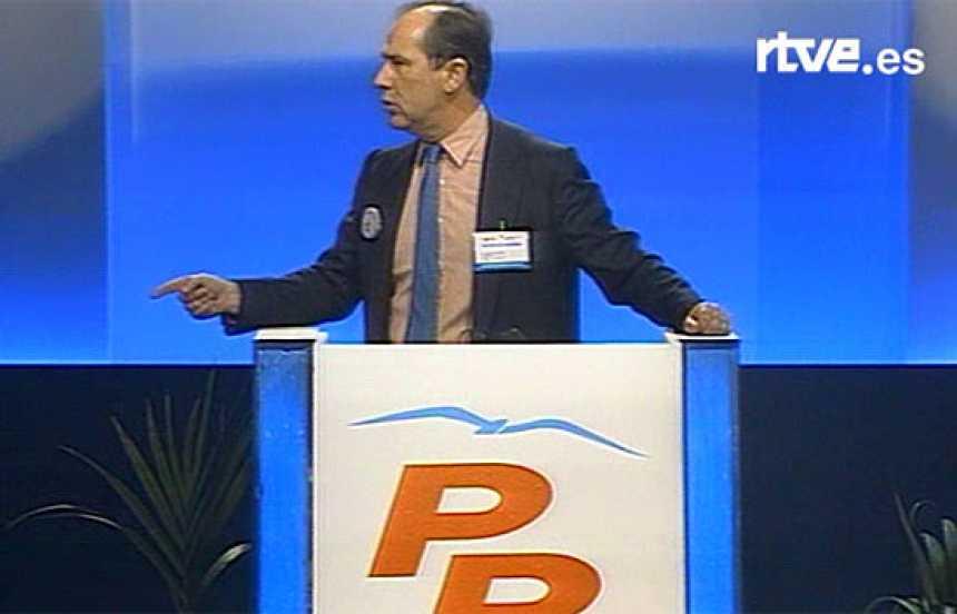 Rato y Álvarez-Cascos arremeten contra el PSOE (1993)