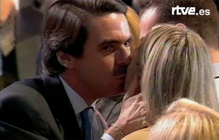 El último Congreso de Aznar (2002)