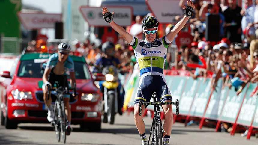 Clarke gana la etapa y Joaquim se pone líder