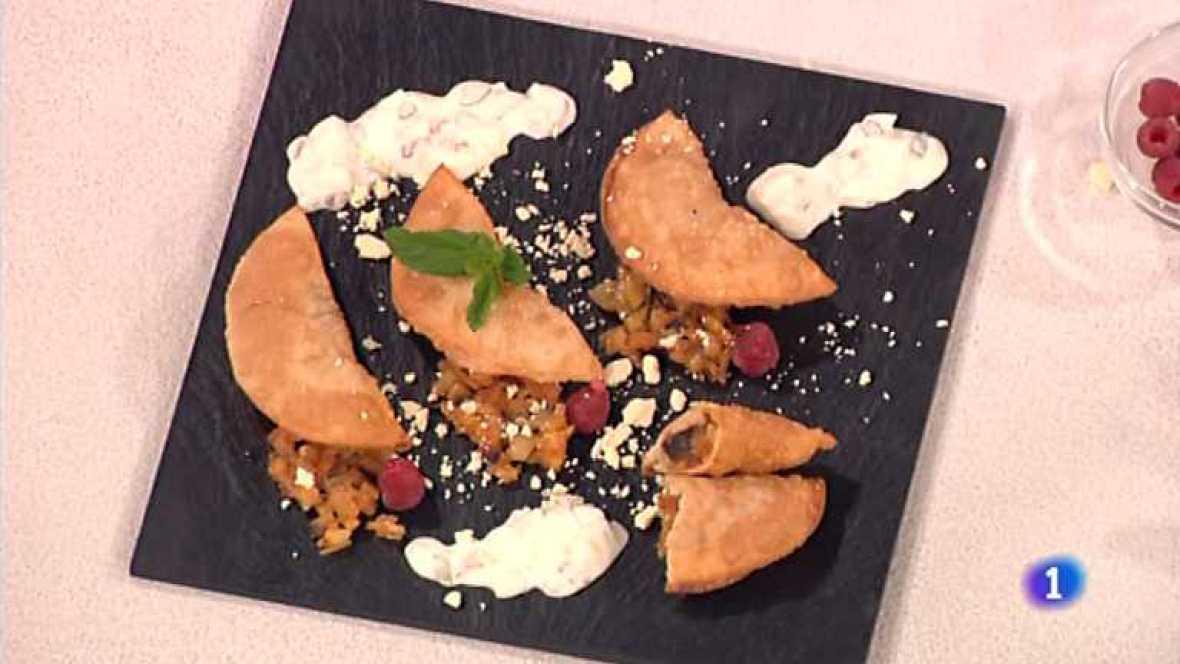 Cocina con sergio empanadillas rellenas de aceitunas y - Cocina con sergio pepa ...