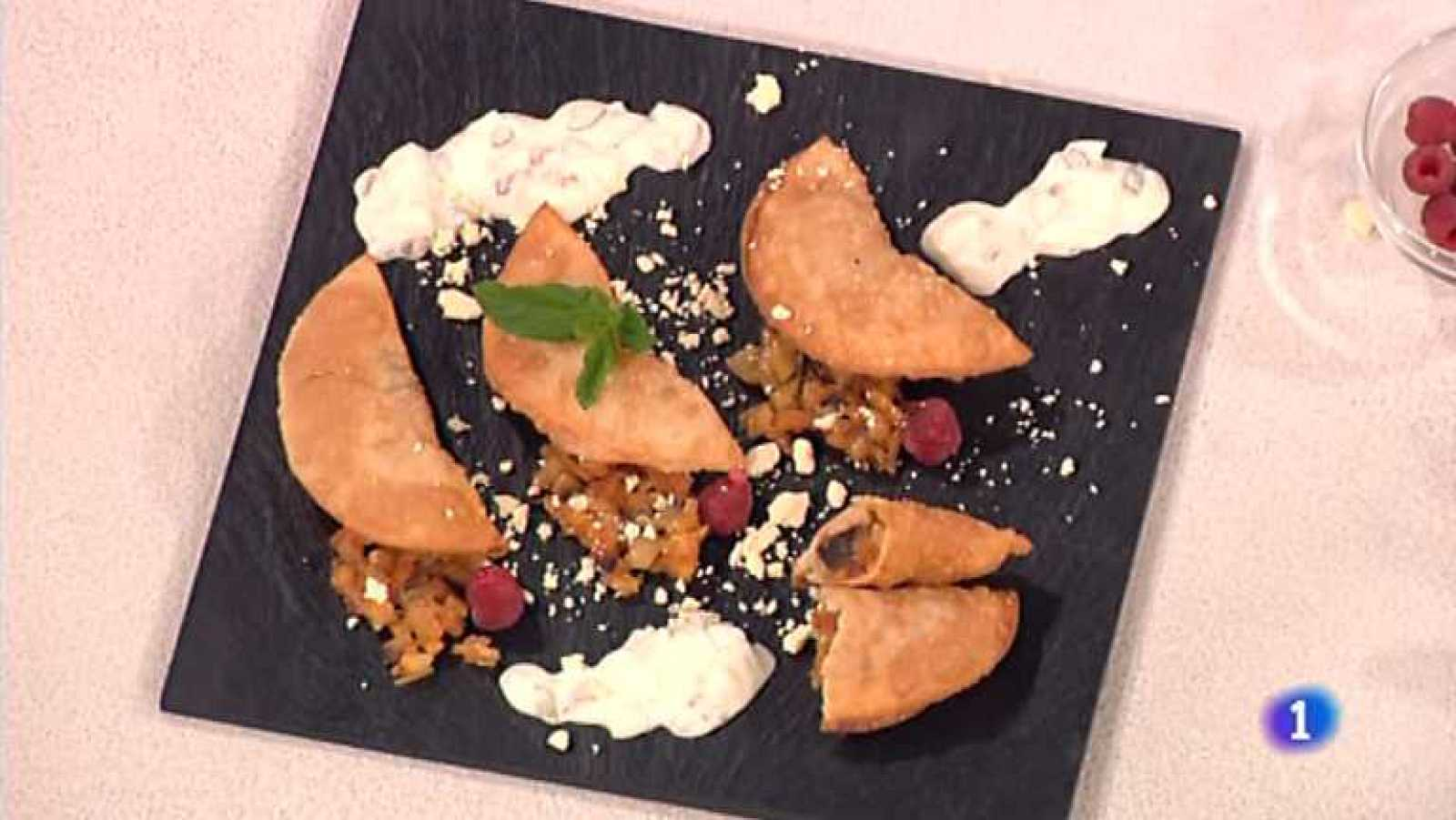 Cocina con Sergio - Empanadillas rellenas de aceitunas y berenjena ...