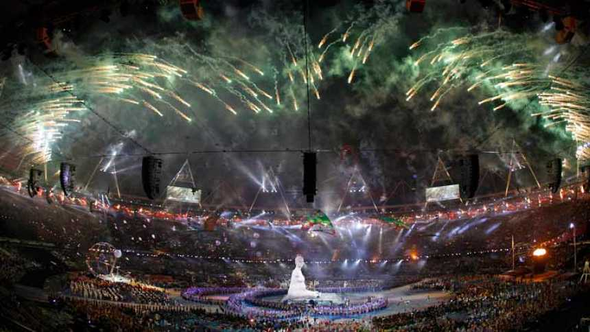 Ceremonia de inauguración de los Juegos Paralímpicos Londres 2012  (1ª parte)