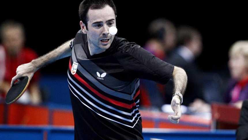 Álvaro Valera, plata en tenis de mesa