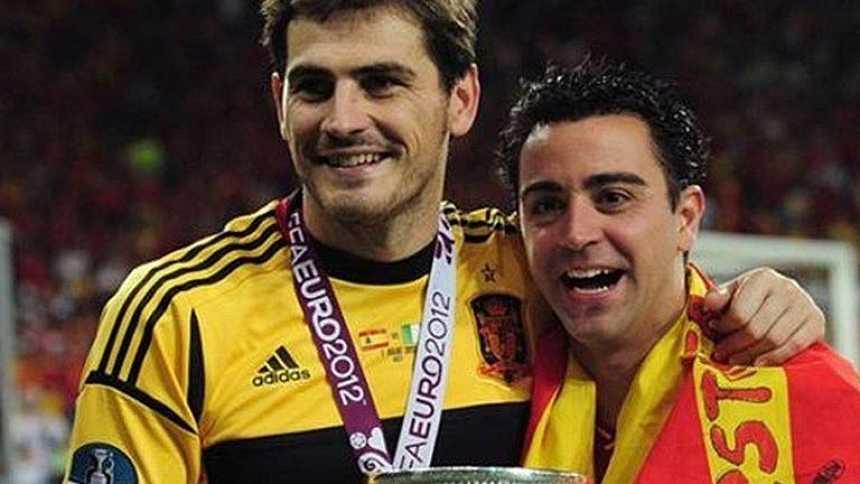Casillas y Xavi, galardonados con el Premio Príncipe de Asturias de los Deportes