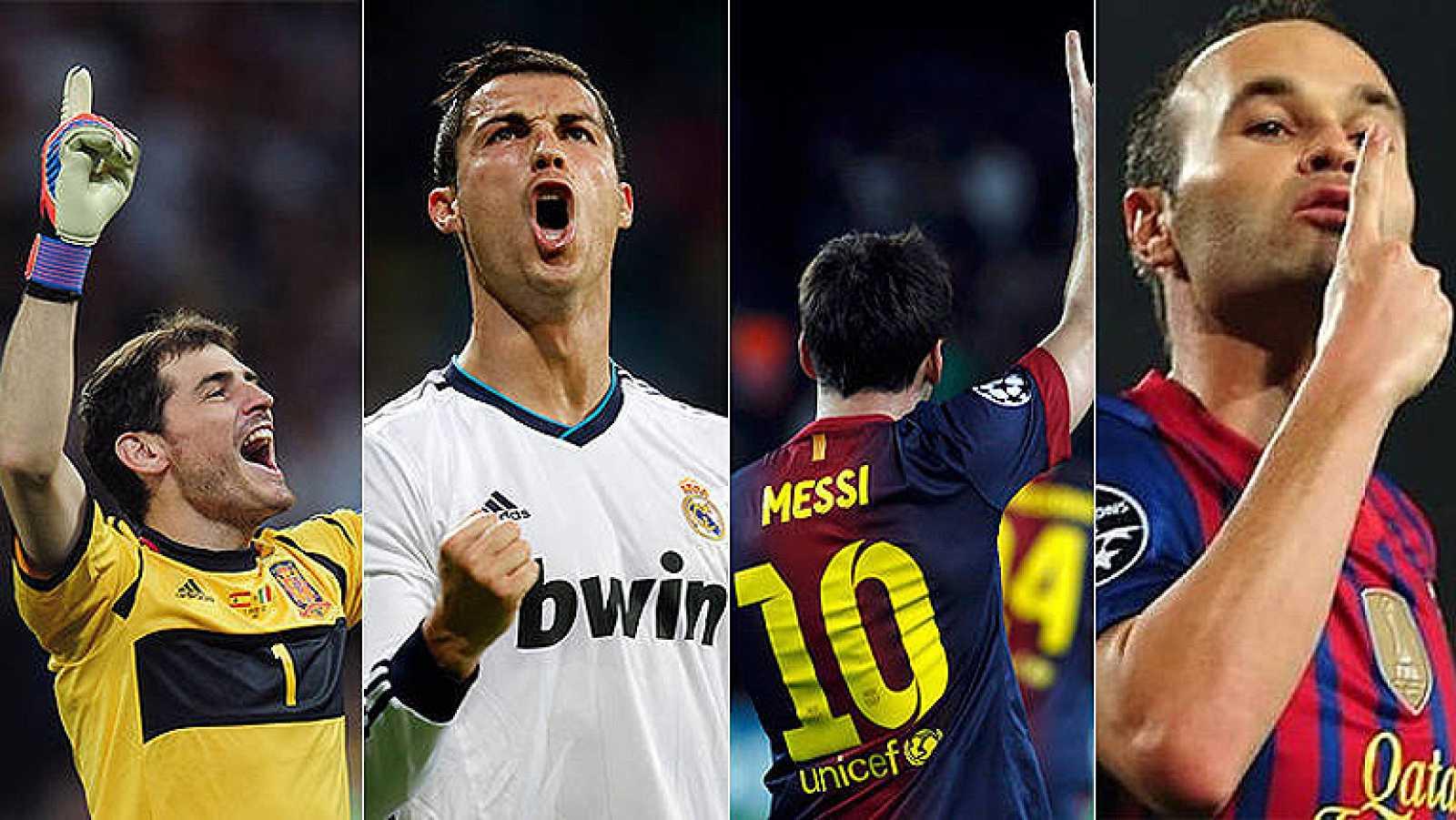 Para todos los públicos Los dos jugadores franquicia de madrid y Barça  llegan en racha al clásico del Camp Nou reproducir video bf6e7baa011