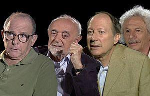 Gutiérrez , Gual, Gómez  y el Brujo