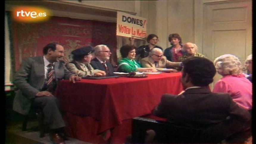 Arxiu TVE Catalunya - Doctor Caparrós, metge de poble -  Qui serà el nou alcalde?