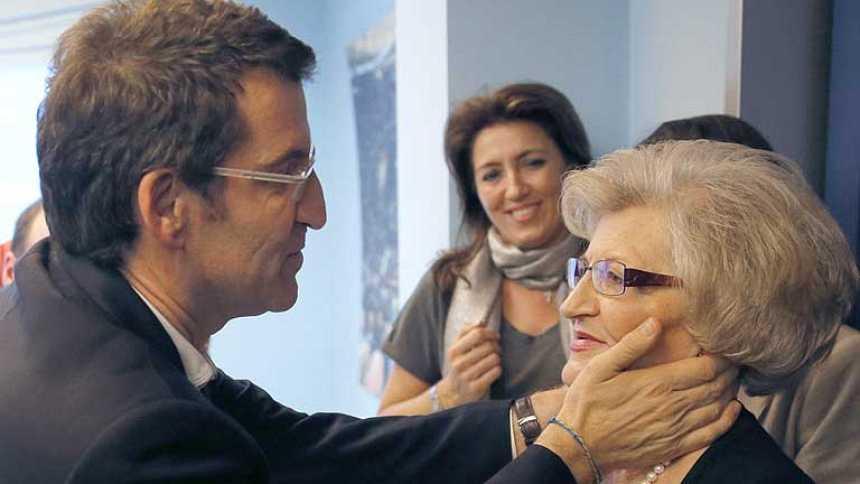 """Feijóo atribuye su victoria en Galicia a la """"responsabilidad"""" de Rajoy gobernando"""