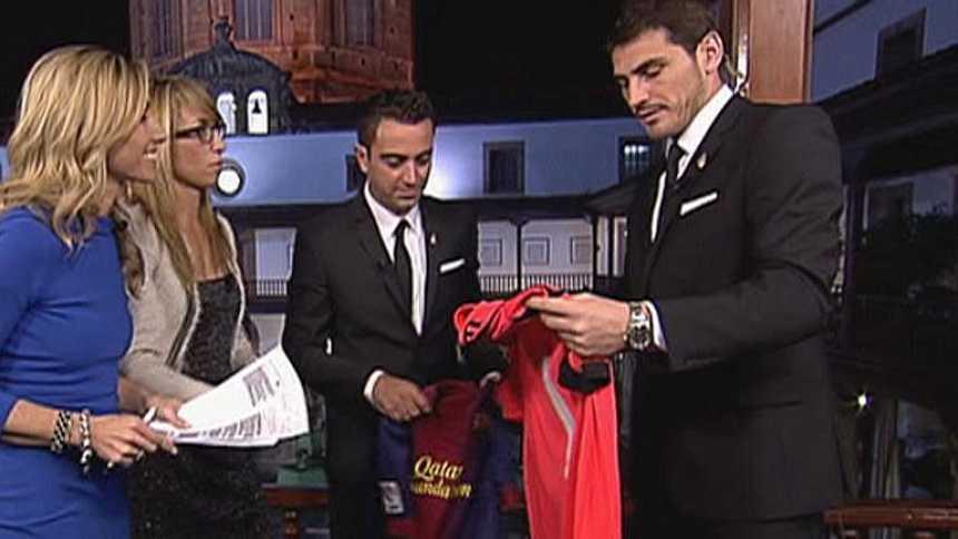 """Casillas y Xavi: """"Somos ejemplo para muchos niños"""""""