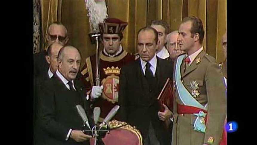 La coronación y los primeros años de reinado de Don Juan Carlos
