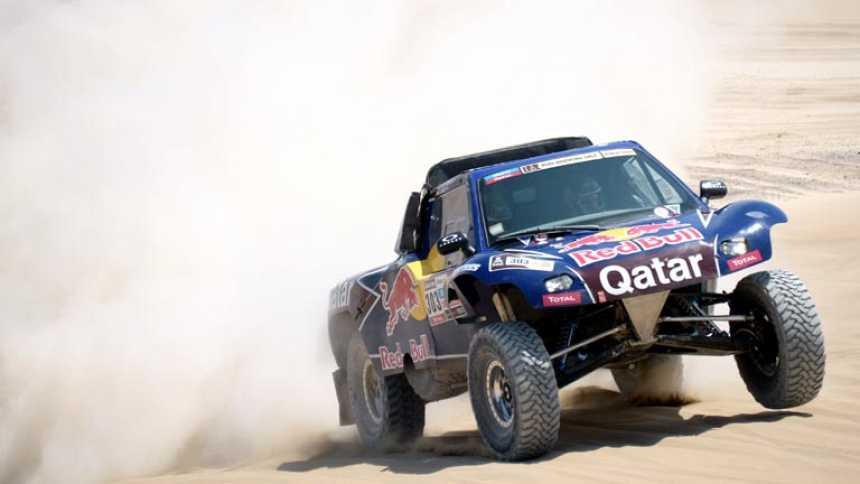 Sainz y Barreda pierden el liderato en el Dakar