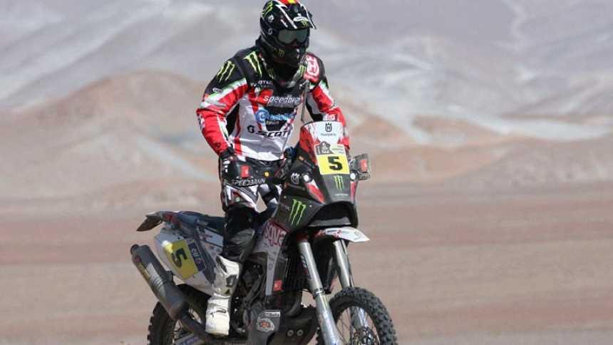 Victoria de Joan Barreda en la etapa del Dakar