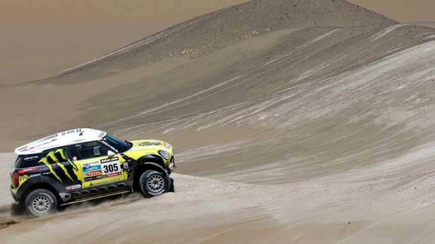 'Nani' Roma se lleva su primera etapa en el Dakar