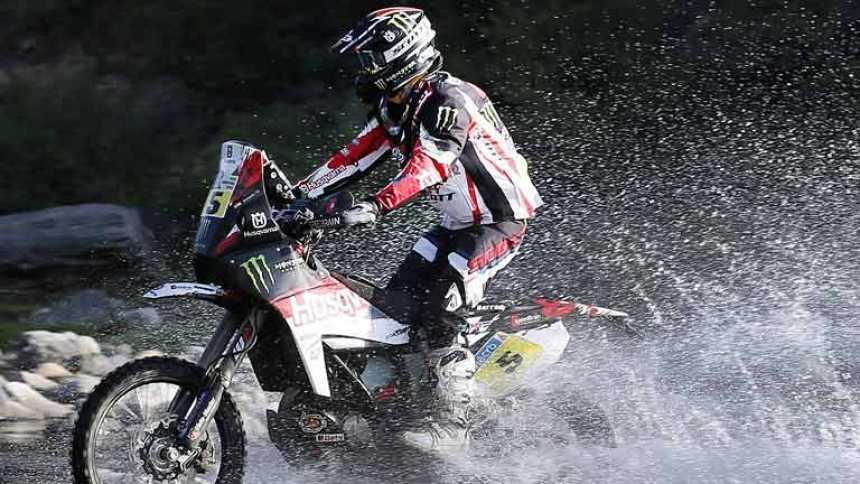 Joan Barreda, primero en motos y 'Nani' Roma, segundo en coches