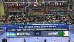 Mundial de Balonmano - President's Cup: Argentina - Argelia