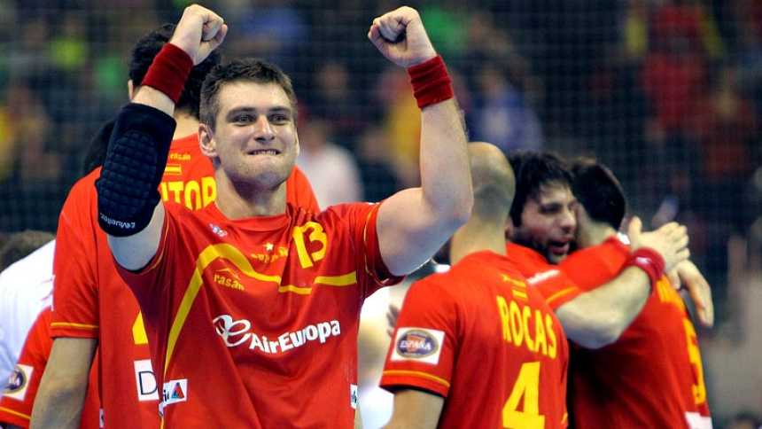 España gana a Alemania y acaricia las medallas