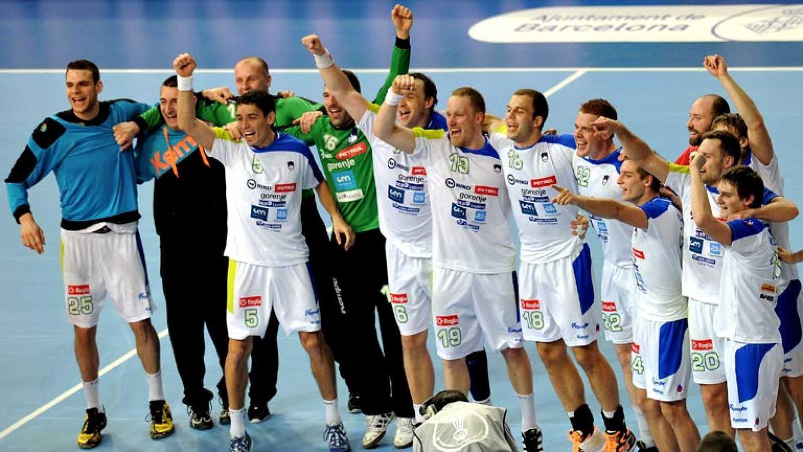 Mundial de Balonmano 2013 - 1/4 de final: Eslovenia 28-27 Rusia ...
