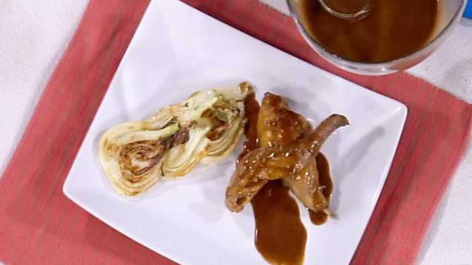 Www.rtve.es Cocina Con Sergio | Cocina Con Sergio Conejo Guisado Al Limon Y Chocolate Rtve Es
