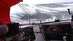 El Acciona vuelca en el Atlántico
