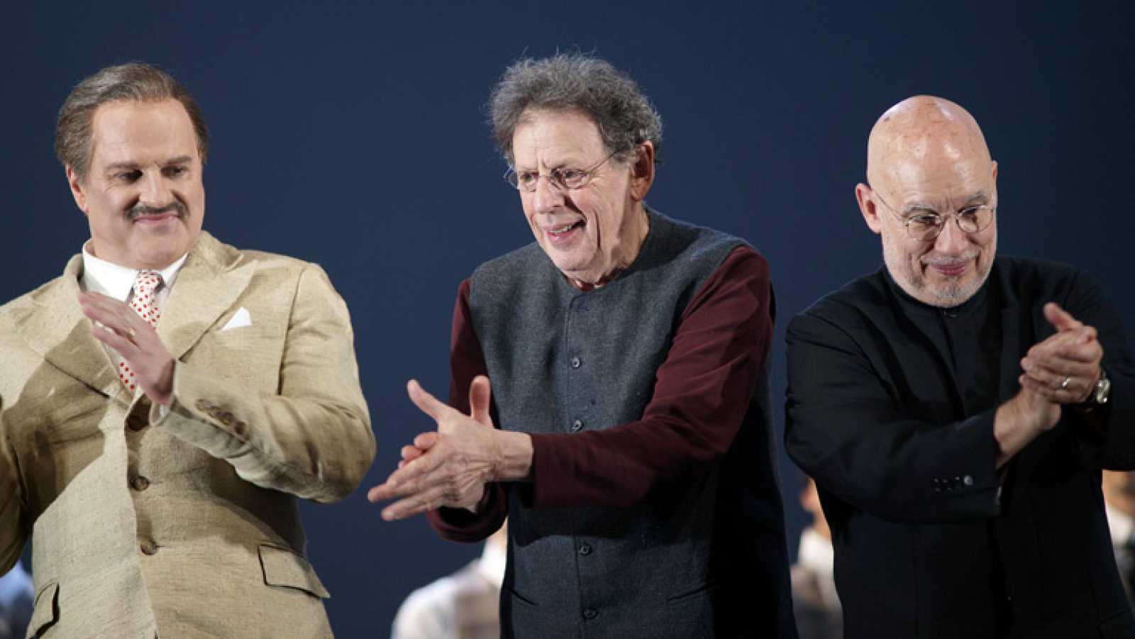 Programa de mano - La ópera 'The perfect american', de Philip Glass, estrenada en el Teatro Real