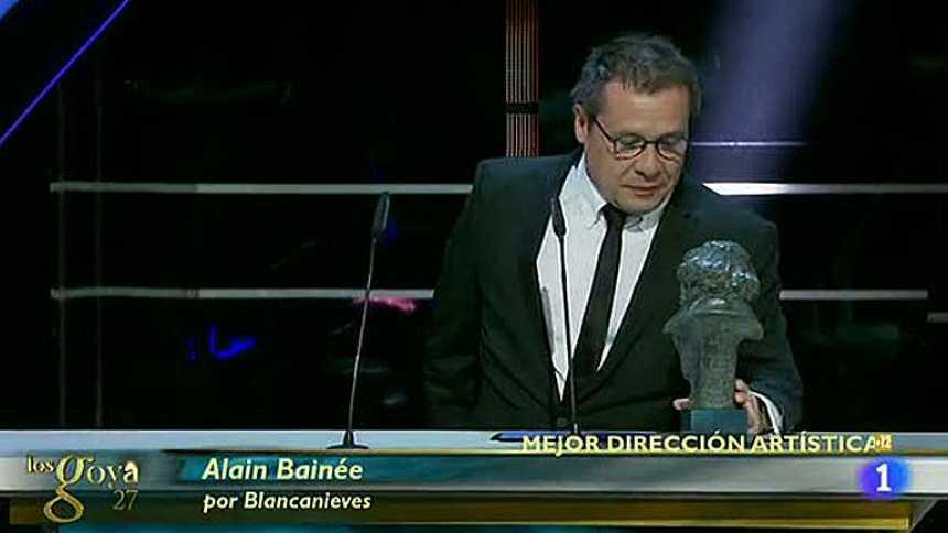 Alain Bainée, premio a la Mejor Dirección Artística por 'Blancanieves'