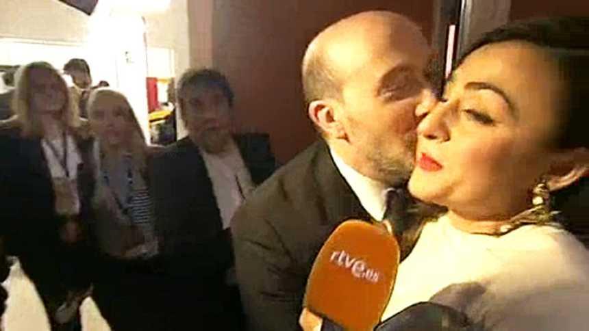 "Candela Peña: ""Estoy atacada, pensaba que se lo daban a Ángela Molina"""