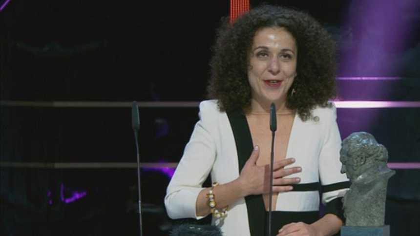 Sandra Hermida Muñiz, premio a la Mejor  Dirección de Producción por 'Lo imposible'
