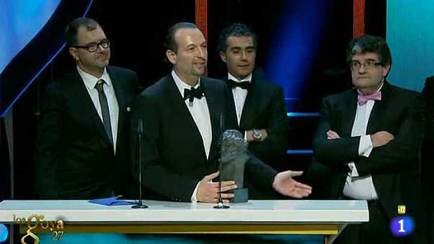 'Las aventuras de Tadeo Jones', Goya al Mejor Guion Adaptado
