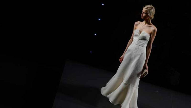 Desfile de Juanjo Oliva en la Fashion Week Madrid