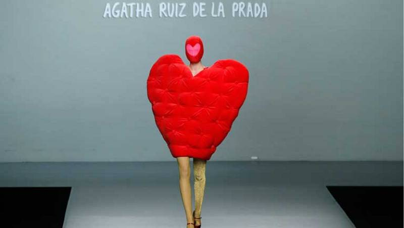 Desfile Agatha Ruiz de la Prada Cibeles Fashion Week Madrid 2013