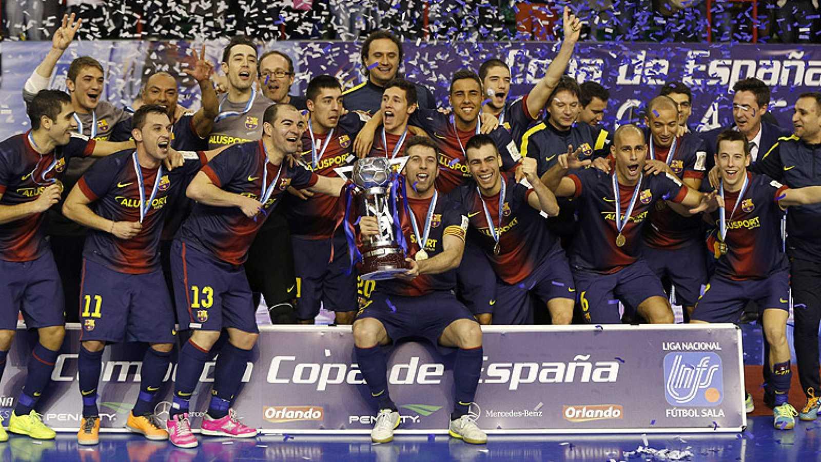 Barcelona Alusport 4-2 ElPozo Murcia - RTVE.es 25bfed44aec