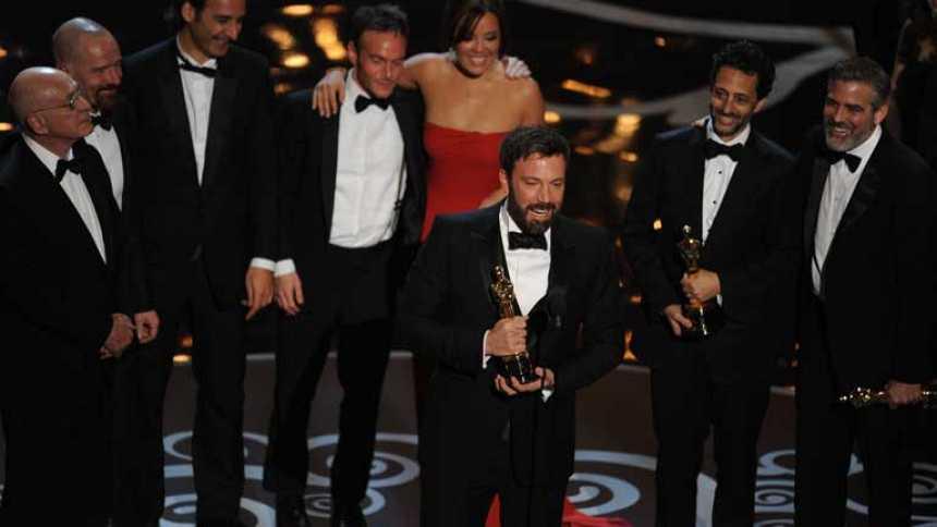 'Argo' triunfa en la noche de los Oscar