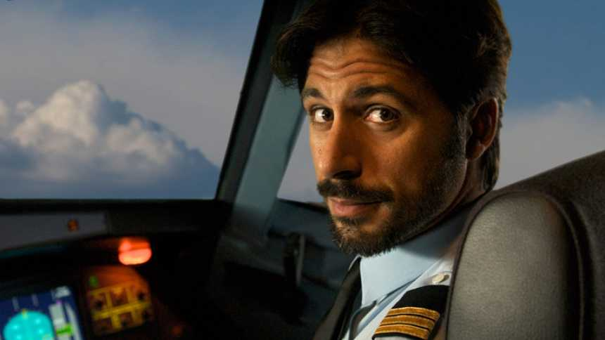 Hugo Silva, Antonio de la Torre y Lola Dueñas en 'Los amantes pasajeros'