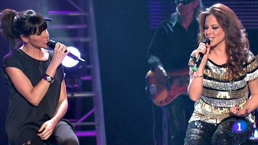 ESDM y Pastora Soler cantan 'Nunca volverá'